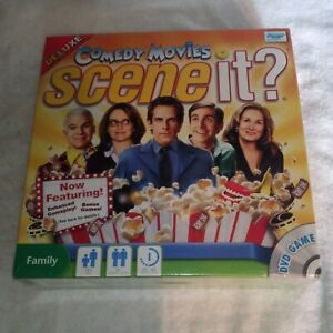 Scene IT? Comedy Movies DVD Game Deluxe - New Factory Sealed Screen Life