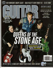GUITAR WORLD - Nov 2017 - Queens of the Stone Age Cover - Villains, Bowie, Bass