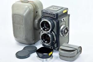 {Rolleiflex 4x4} Medium Format Film Camera with Xenar 60/3.5 Lens Baby Rollei F/