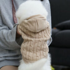 Pet Dog Warm Jumper Knit Sweater Clothes Puppy Cat Knitwear Costume Coat Apparel