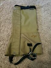 New Outdoor Research Crocodile Military Gaiters Coyote Brown, Large