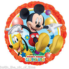 "Disney Mickey Mouse Clubhouse Boys Birthday Party 17"" Foil Balloon"