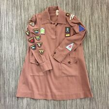 Vintage 50s GIRL GUIDES Brownies DRESS Uniform SCOUTS 3rd BENNETSWOOD + Badges