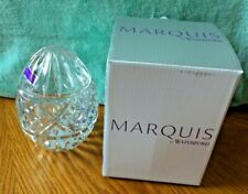 Marquis by Waterford Crystal Egg Box - Clear - New in Box