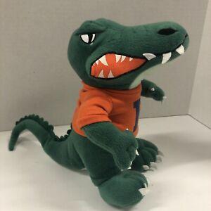 "Univ. of Florida Gators NCAA Toy Factory Plush Alligator Mascot Animal 10"""