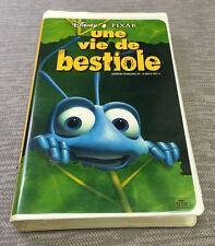 "FRENCH A Bug's Life VHS Walt Disney Pixar ""Une Vie De Bestiole"" Movie"