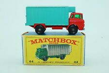 Matchbox Lesney No 44 Refrigerator Truck - Made In England - Boxed
