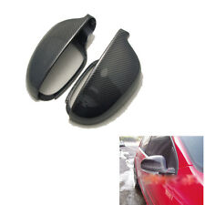 Carbon Fiber Rear View Side  Mirror Covers Caps For VW Golf V MK5 GTI 2006-2008