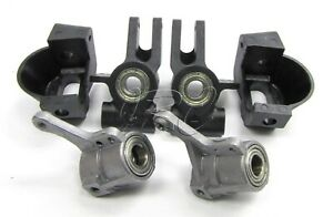 TROPHY Buggy FRONT/REAR HUBS, Bearings, Carriers 101015 101027 (HPI flux 107016