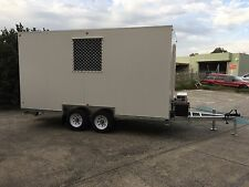 Work site trailer Site shed Site building site office lunch room portable