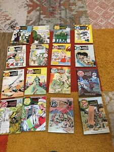 PS Preventive Maintenance Monthly Will Eisner lot of 16 1955-59 37 38 39 etc