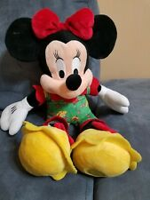 Disney Store Minnie Mouse Cherry Pie Pajama's Plush 18""