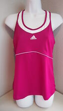 Adidas Sports Bra Fuchsia Athletic Running Workout Womens Climalite Measurements