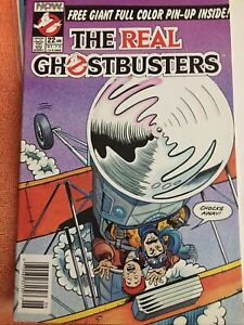 The Real Ghostbusters #22 ~ NEAR MINT NM ~ 1990 NOW Comics