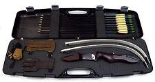 Bogenset Einsteigerset Recurvebogen Ragim white Matrix 68 Zoll mit Koffer