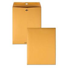 100 Business Envelopes 10x13 Kraft Clasp Manila Catalog Yellow Brown Flap 100pcs