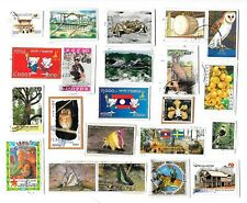 LAO - Selection of Stamps on Paper from Kiloware