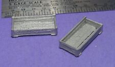 S SCALE Sn3 1/64 WISEMAN MODEL SERVICES DETAIL PARTS: S405 LARGE OPEN CRATES