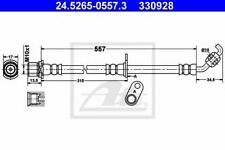 Flexible de frein TOYOTA RAV 4 II (CLA2_, XA2_, ZCA2_, ACA2_) RAV 4 Mk II (CLA2_