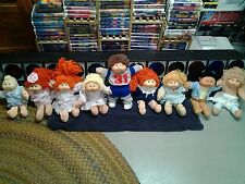 Vintage 1985 Cabbage Patch Doll Lot of Nine.
