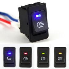 4x 12V Auto KFZ Wippenschalter Schalter LED Beleuchtet Wippschalter Kippschalter