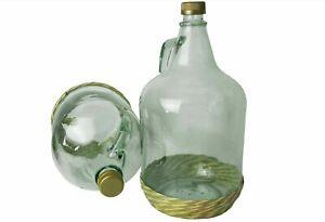 5L Bonbonne Avec Screw-Cap + Protection Panier Pour Brassage + Optionnel Extras