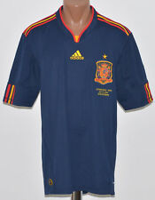 *BNWT* SPAIN 2010 WORLD CUP FINAL AWAY FOOTBALL SHIRT JERSEY ADIDAS REPLICA