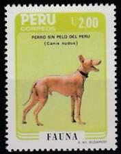 Peru postfris 1986 MNH 1339 - Honden / Dogs (h133)