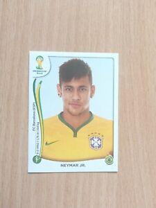Neymar JR. sticker #48 World Cup 2014 Rookie Panini