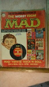 ES41 Mad Magazine 1960s WORST OF & MORE TRASH from MAD MAGAZINE
