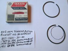 Yamaha Sl / Sw396 / Gp396 Snowmobile Oem +0.50 Piston Ring Set 807-11601-20-00 (Fits: Yamaha)
