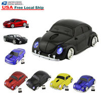 HOT Gift 2.4Ghz Wireless USB car mouse Cordless Optical Laptop PC Computer Mice