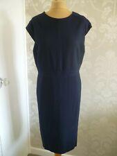 NEXT Tailoring navy shift style dress size 22
