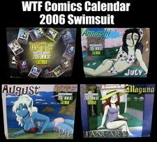 Wtf Comics Swimsuit Calendar Eq Everquest 2006 (Very Rare)