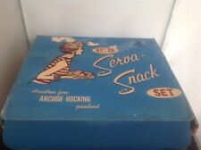 8 piece Anchor Hocking Serve a snack