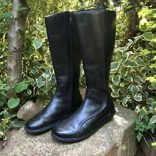 DR MARTENS 3A71 Zip-up Black Leather Calf Boots - 5 UK, 6 US, 38 EU - Nearly New