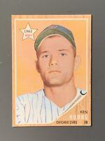 1962 Topps #461 Ken Hubbs Rookie EX Chicago Cubs