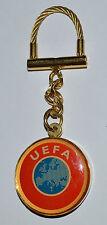 UEFA European Football Association soccer vintage keyring keychain