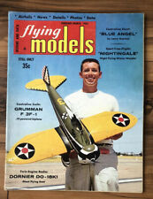 Flying Models Magazine March 1965 Radio Control Airplanes