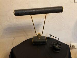 # Lampe JUMO noire Eileen Gray design années 50 vintage ancienne lamp