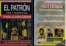 LOS ARCHIVOS PRIVADOS DE PABLO ESCOBAR EL PATRON VIDA Y MUERTE RARE SPANISH DVD