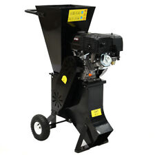 15 HP Garden Tree Wood Chipper Timber Brush Branch Shredder Petrol Commercial