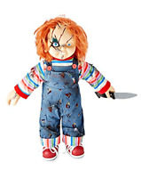 Chucky Doll Halloween Licensed Childs Play Scarred Face 24 Inches Tall Dolls
