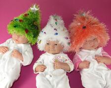 PRINTED KNITTING INSTRUCTIONS - BABY CHRISTMAS TREE BEANIE HAT KNITTING PATTERN