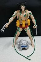 """VTG 1994 TOY BIZ MARVEL 10"""" WEAPON X FIGURE * IN LOOSE CONDITION COMPLETE"""