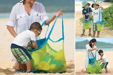 Extra Large Sand-away Carrying Bag Beach Toys Swimming Pool Mesh Bag Tote Prof