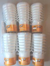 6-Rubbermaid/Scott Tcell Citrus Scent Air Freshener Odor Refill *Brand New*