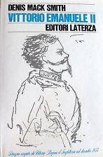 DENIS MACK SMITH VITTORIO EMANUELE II LATERZA 1972
