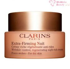 Clarins Extra-firming Night Cream For Dry Skin 1.6oz / 50ml New In Box