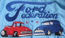 VINTAGE 1960'S FORD FEDERATION F-100 EMBROIDERED CUSTOM JACKET XXL